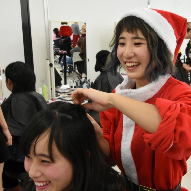 東京ベルエポック美容専門学校 ♪高1・2年のための!クリスマスオープンキャンパス♪4