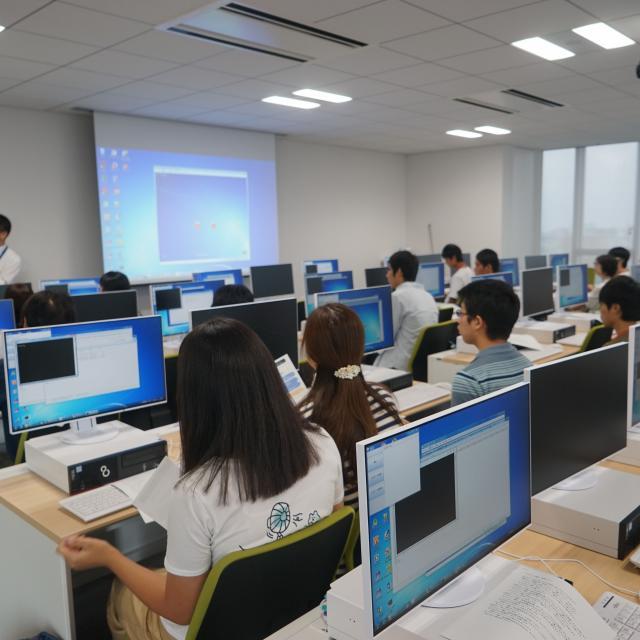 東京電子専門学校 学校見学会(短時間で学校をチェック!)3