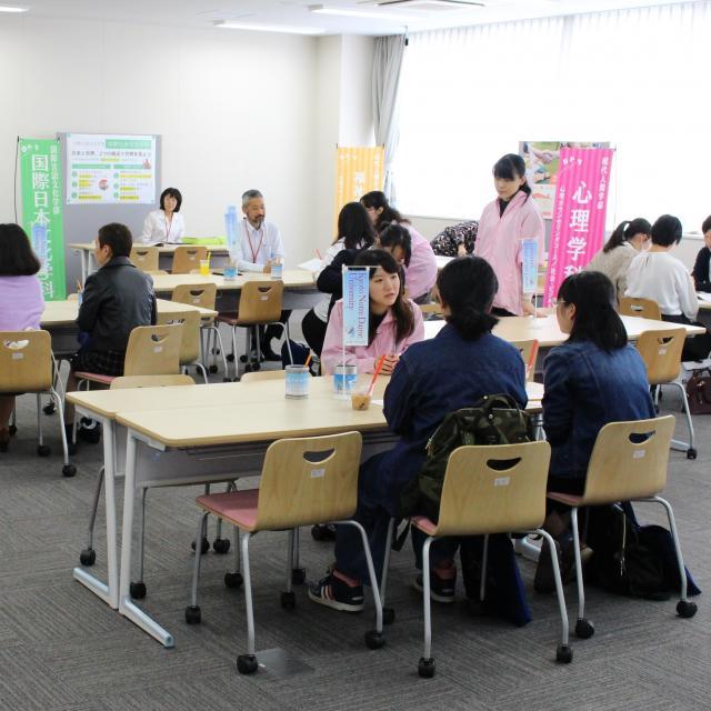 京都ノートルダム女子大学 10月のオープンキャンパス(大学祭同日開催)1