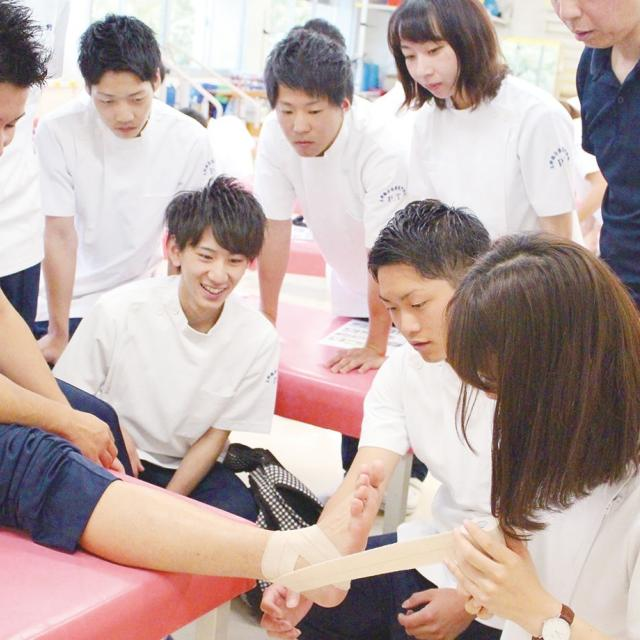 玉野総合医療専門学校 2018 第7回オープンキャンパス 2
