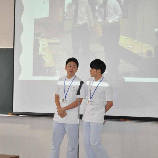 長崎医療技術専門学校 在校生が医技専と仕事の魅力について語る2