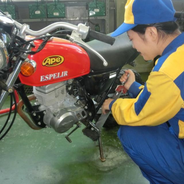 【阪和鳳オープンキャンパス】バイクコース