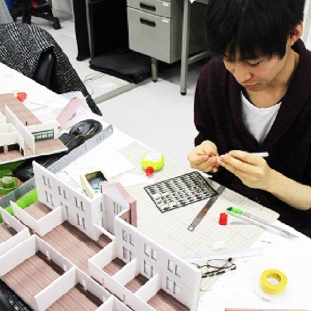北海道芸術デザイン専門学校 bisenの体験入学【建築士専攻】2