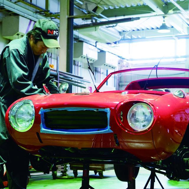 中日本自動車短期大学 整備士だけじゃない!開発・設計者も目指せる大学!1