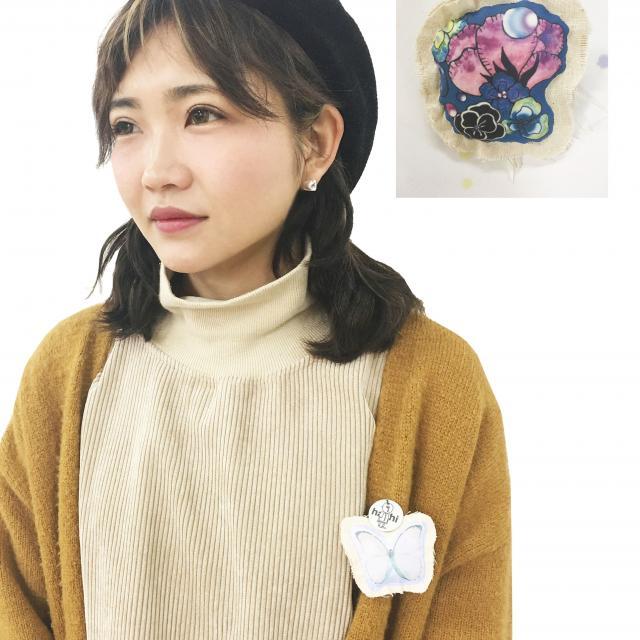香蘭ファッションデザイン専門学校 夏の特別企画!ブローチ作り&ファッションショー1