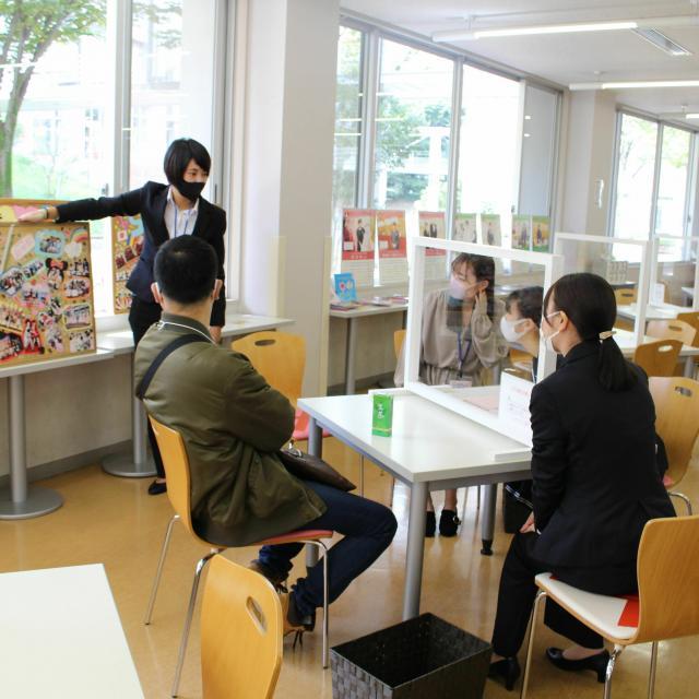 埼玉女子短期大学 面談・プレゼンテーション講座&ミニ体験授業3
