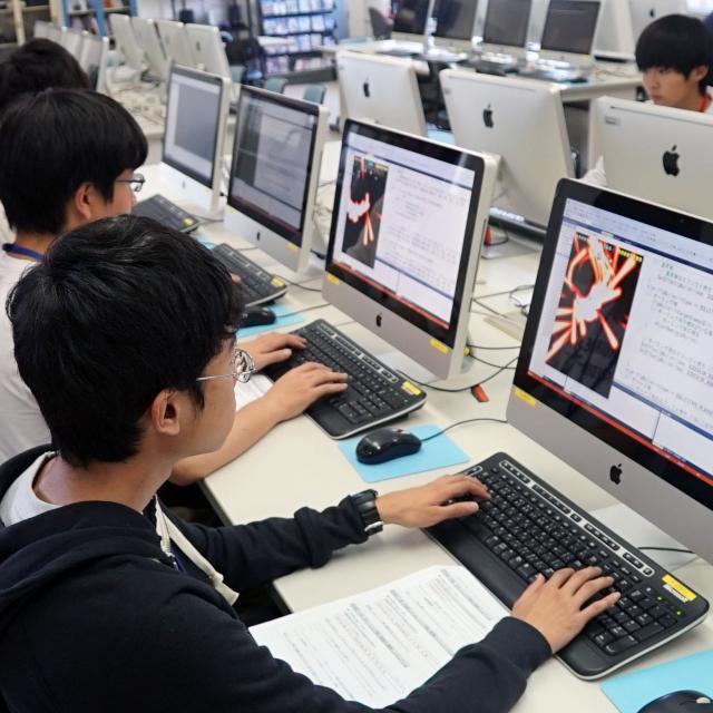 吉田学園情報ビジネス専門学校 【ゲームスペシャリスト学科】オープンキャンパス1