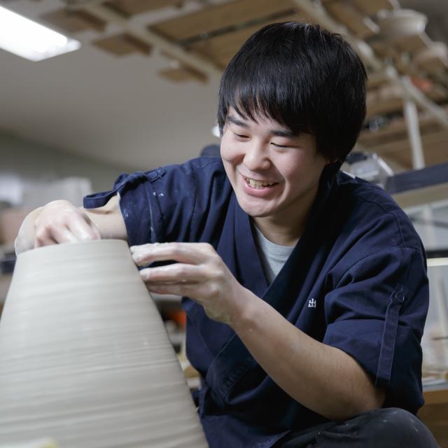京都伝統工芸大学校 工芸体験キャンパス2019 陶芸1