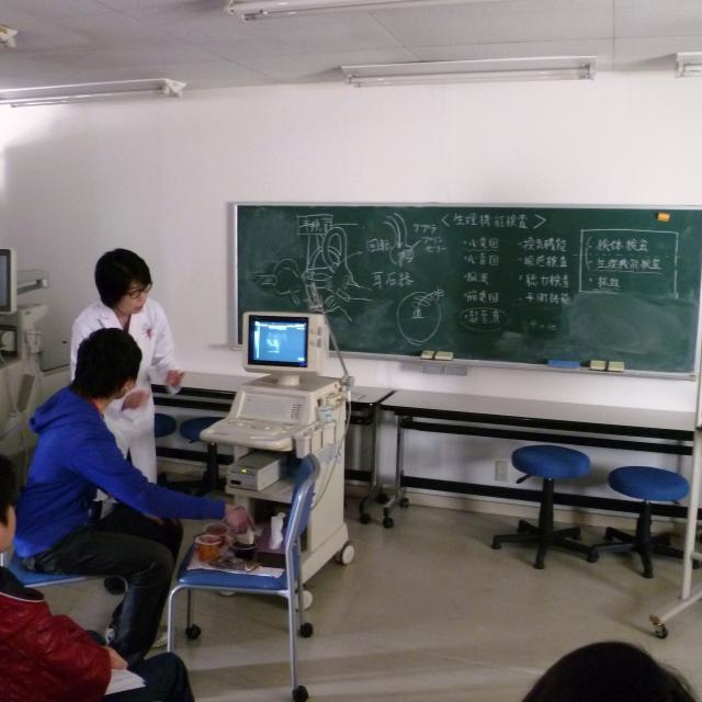 湘央医学技術専門学校 臨床検査のいろいろ体験しよう☆オープンキャンパス 20193