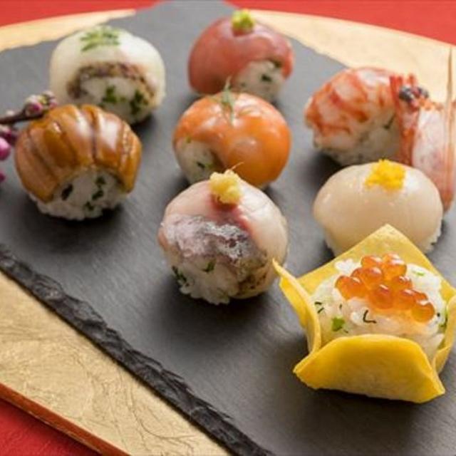 町田調理師専門学校 【フォトコンテスト開催】〈桃の節句の手まり寿司〉1
