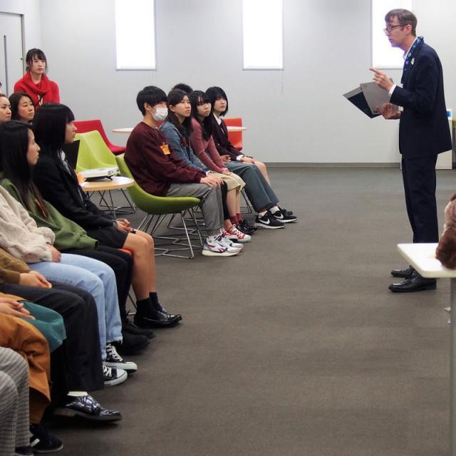 名古屋外語・ホテル・ブライダル専門学校 OPEN CAMPUS 留学コースへ参加!2