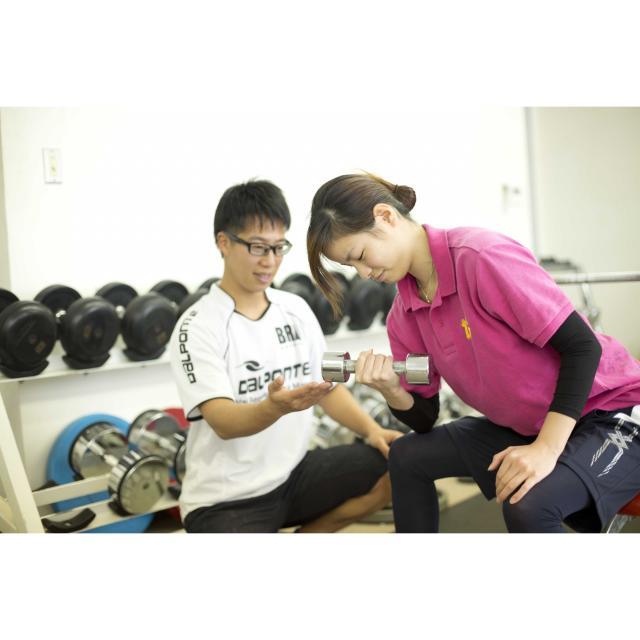 横浜YMCAスポーツ専門学校 パーソナルトレーニング1