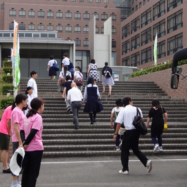 川崎医療短期大学 合同オープンキャンパス(受付:川崎医療福祉大学にて)1