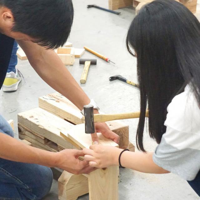 大阪工業技術専門学校 【大工技能学科】☆体験型オープンキャンパス☆1