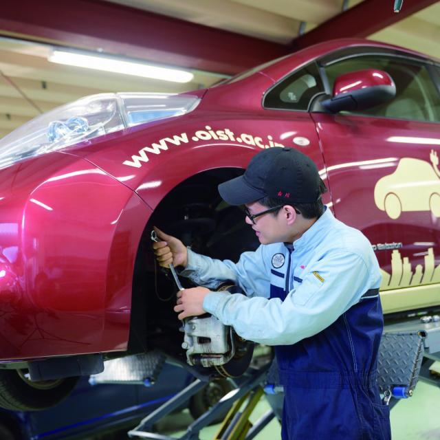 岡山科学技術専門学校 【二級自動車工学科】エンジンやブレーキの仕組が学べるイベント2