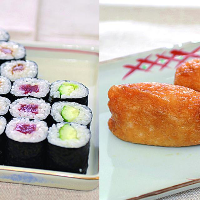 松本調理師製菓師専門学校 日本料理☆細巻寿司と稲荷寿司に挑戦!!1