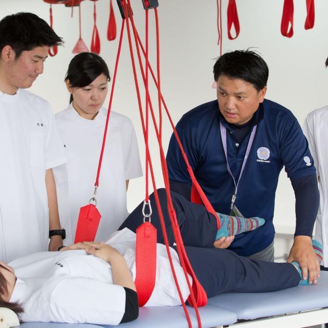 専門学校 琉球リハビリテーション学院 オープンキャンパス:理学療法学科(昼間主・夜間主)1