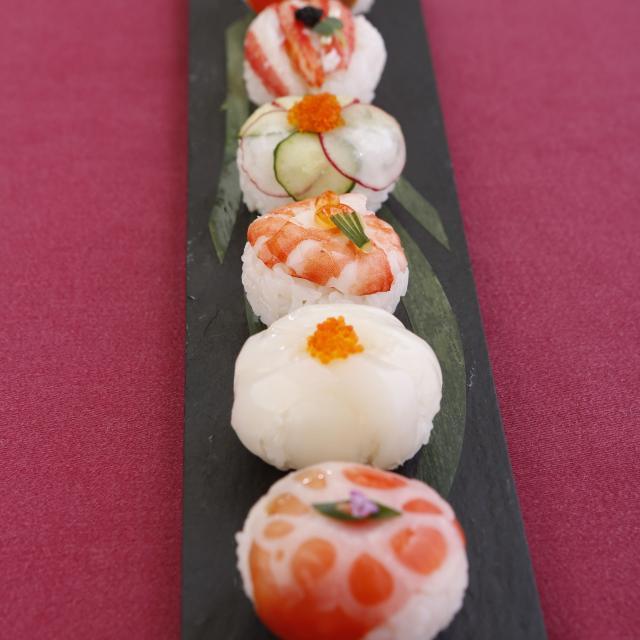 東京調理製菓専門学校 見た目かわいいてまり寿司3