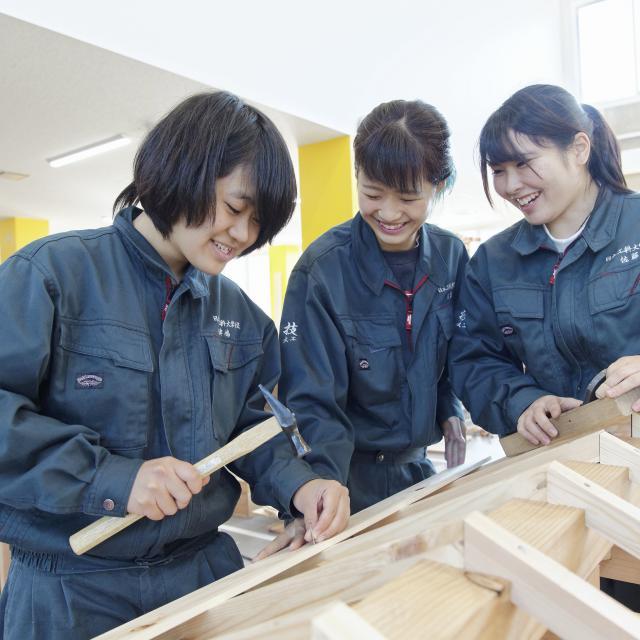 日本工科大学校 【大工コース】建築職人マイスター科2