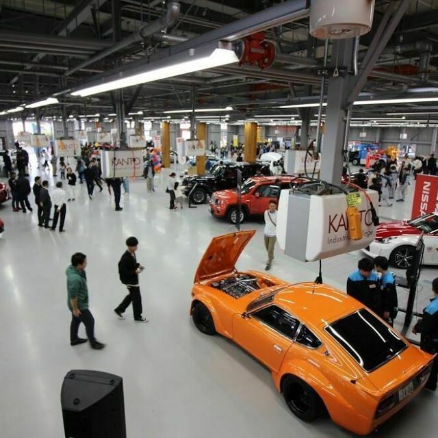関東工業自動車大学校 【先進自動車体験会】最新自動車を体感しよう!1