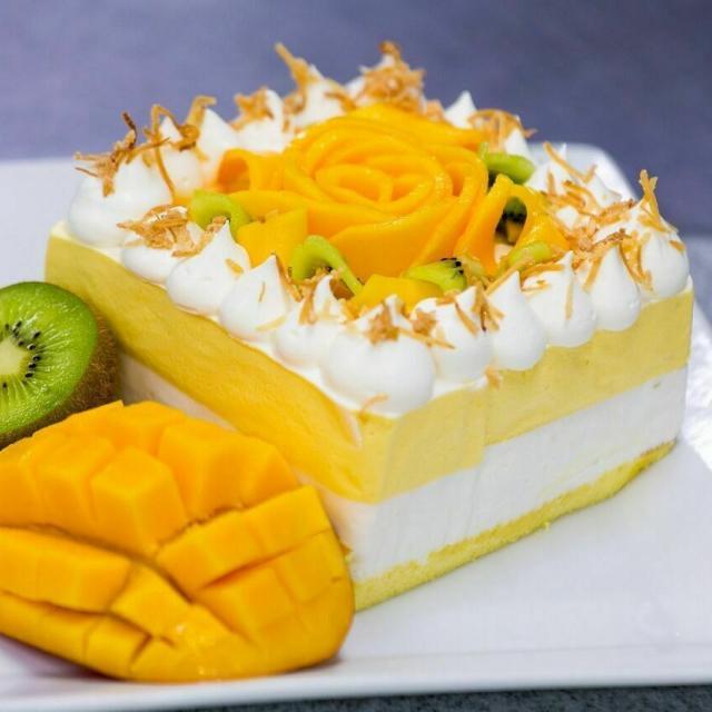 広島会計学院ビジネス専門学校 楽しく一人一台『トロピカルフルーツのケーキ』を作ろう♪1