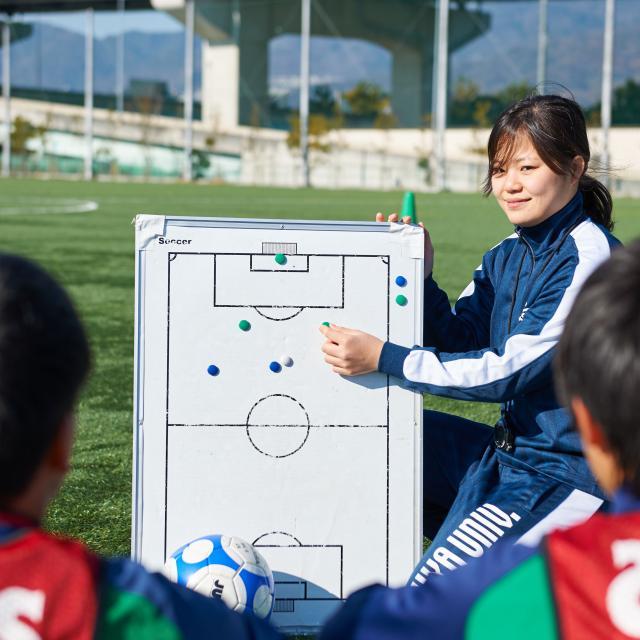 芦屋大学 スポーツ系体験授業「子ども体力について」1