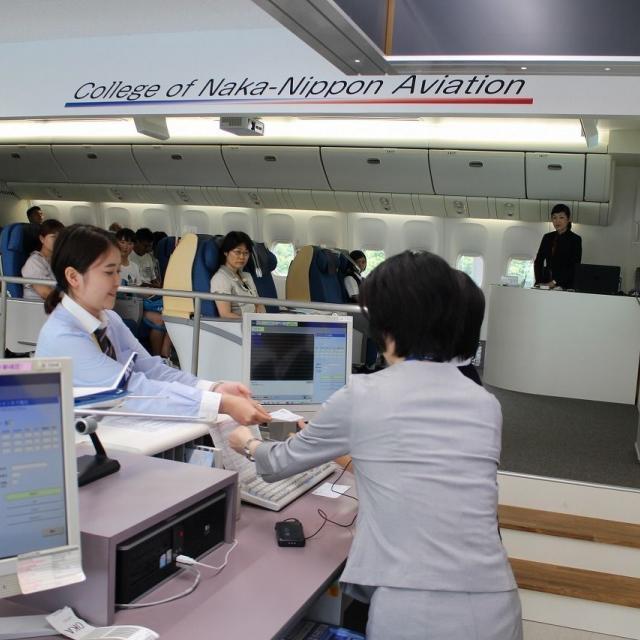 中日本航空専門学校 オープンキャンパス20184