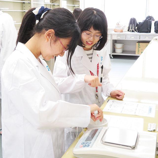 新潟薬科大学 【白衣を着て薬剤師体験】オープンキャンパス20191