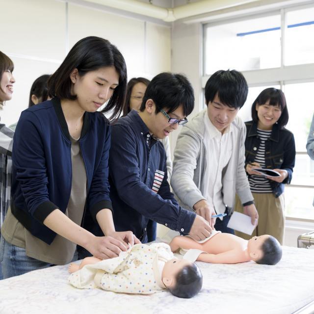 草苑保育専門学校 オープンキャンパス~子どもの保健の授業を体験してみよう~1