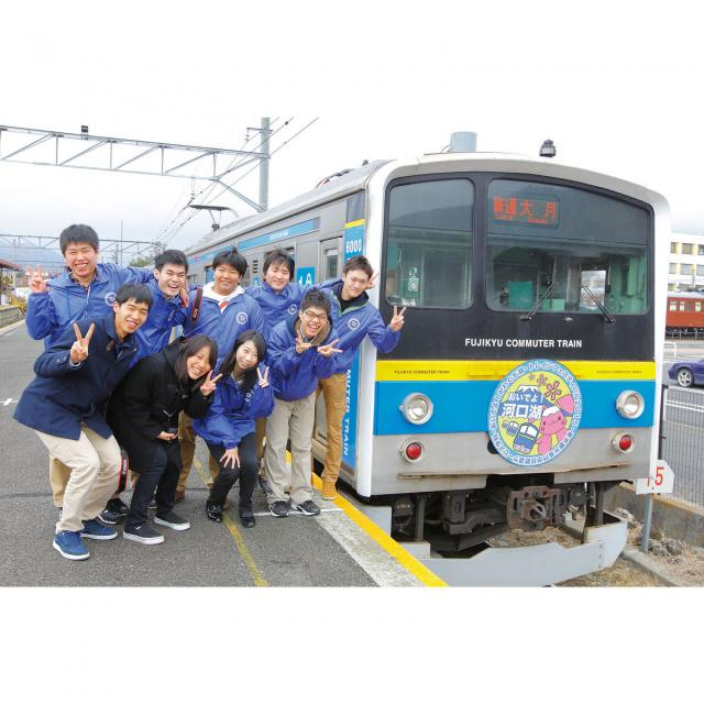 東京観光専門学校 ◇体験入学◇ 鉄道サービス学科1