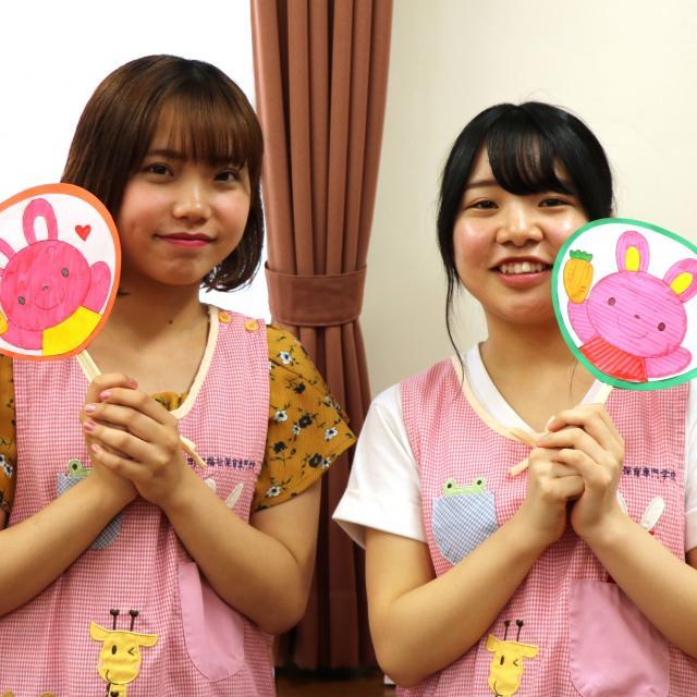 町田福祉保育専門学校 【保育系】盲導犬の理解&ペープサート2