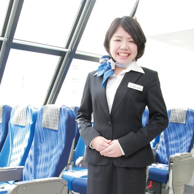 九州観光専門学校 11月の体験入学(航空)1