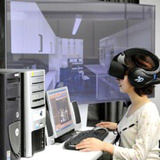 大阪建設専門学校 【建築・インテリア】3次元CADで建築CG制作1