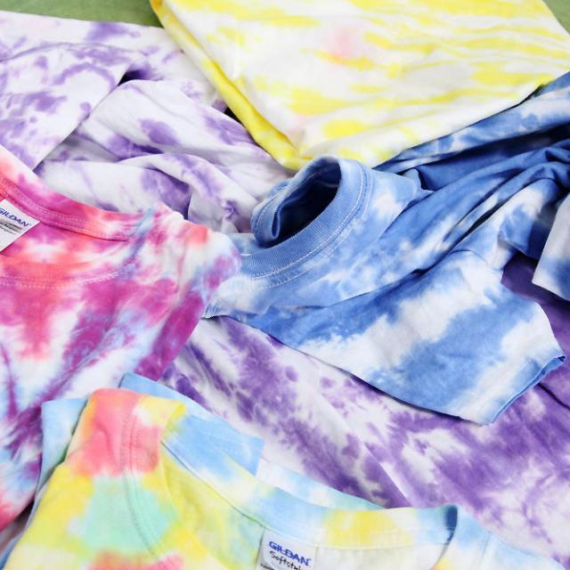 東京服飾専門学校 タイダイTシャツを作ろう!3