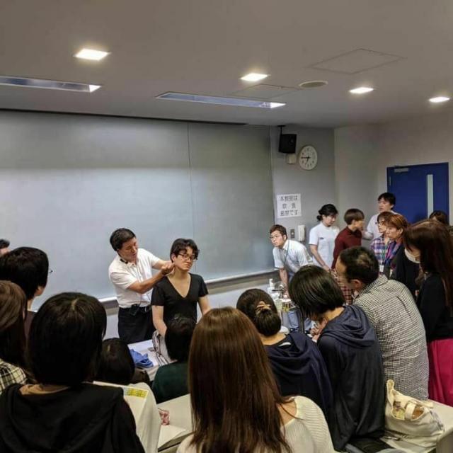 東京医療福祉専門学校 夜の学校説明会1
