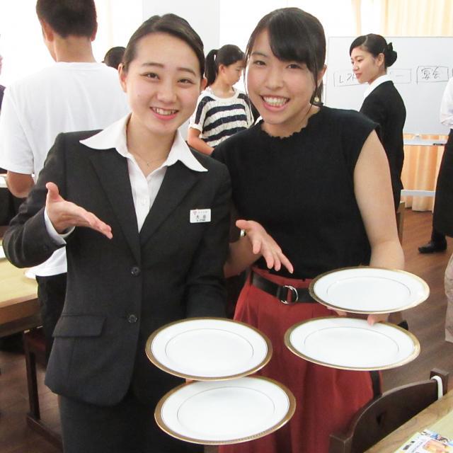 東京YMCA国際ホテル専門学校 ☆体験入学☆料飲サービス授業編☆1
