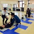 大阪社体スポーツ専門学校 ★ストレッチングの体験授業★