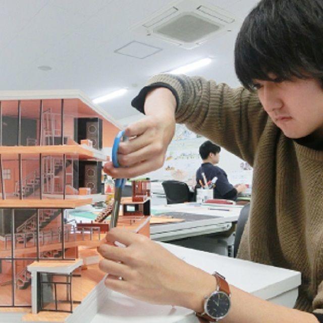 北海道芸術デザイン専門学校 bisenの体験入学【インテリアデザイン専攻】2
