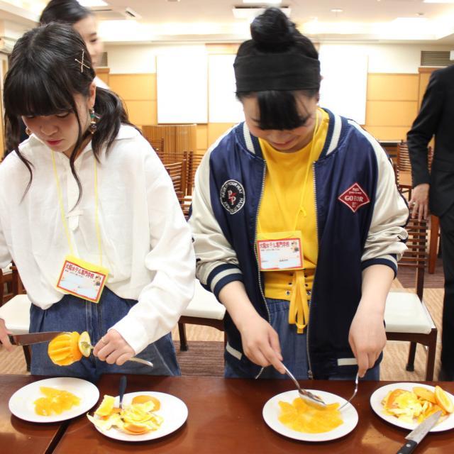大阪ホテル専門学校 【高校1・2年生対象】職業なりきり体験オープンキャンパス♪3