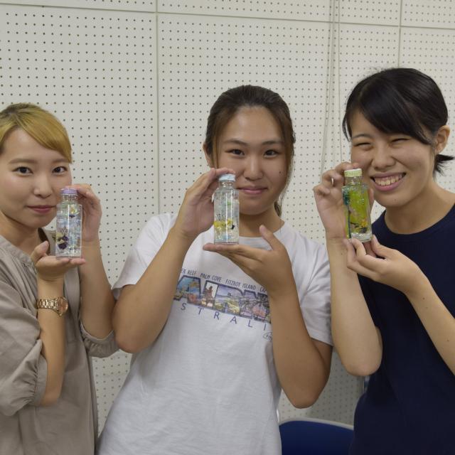 京都福祉専門学校 オープンキャンパス ~ 大人気!ハーバリウム作り ~4