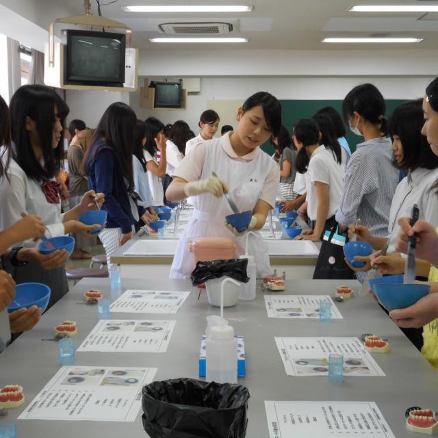 大阪歯科衛生士専門学校 オープンキャンパス1