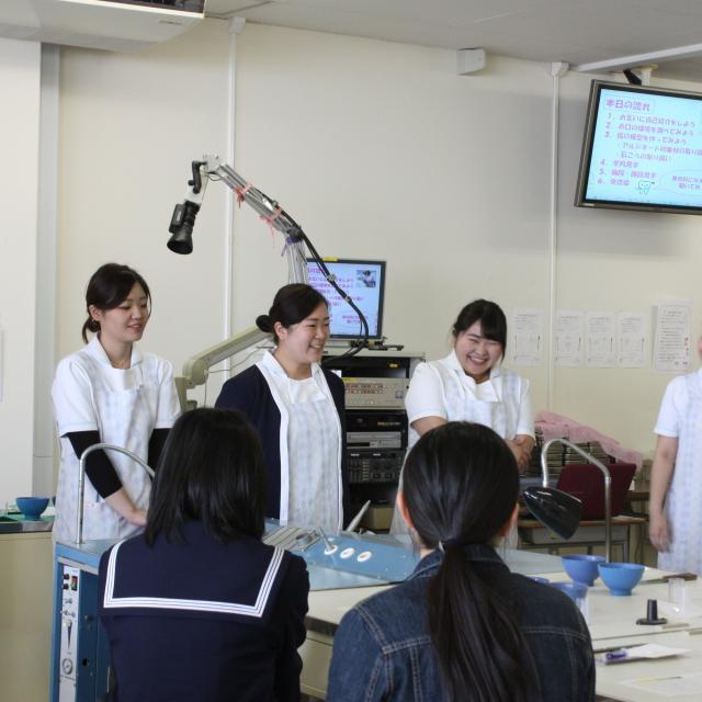 福岡医療短期大学 歯科衛生学科 オープンキャンパス2018 ★8月17日3