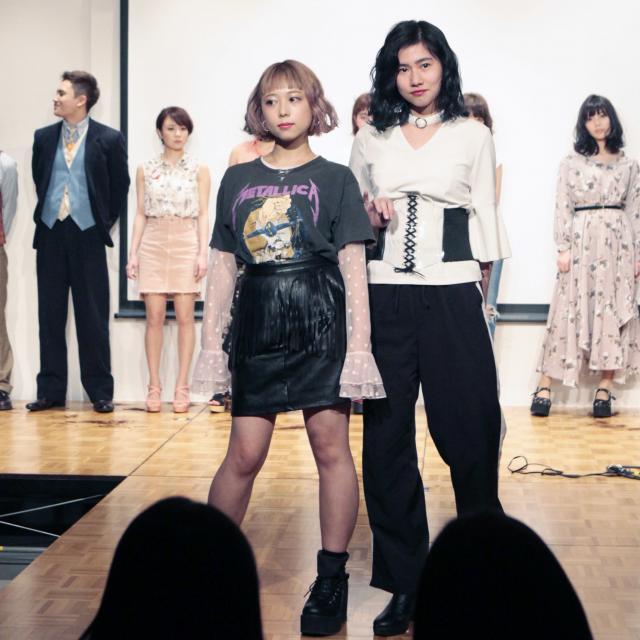 国際文化理容美容専門学校渋谷校 特別体験入学会:いつもよりバージョンアップしたヘアショー♪1
