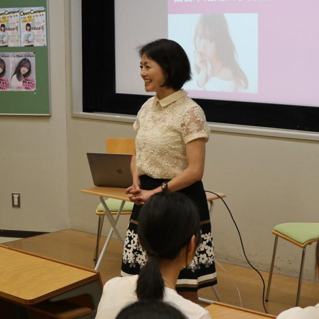 西日本短期大学 NEW☆メディア・プロモーション学科☆オープンキャンパス4