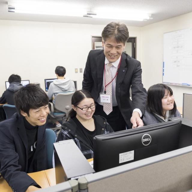 広島情報ビジネス専門学校 オープンキャンパス20184