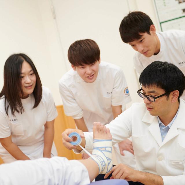 アルファ医療福祉専門学校 柔道整復学科 オープンキャンパス1