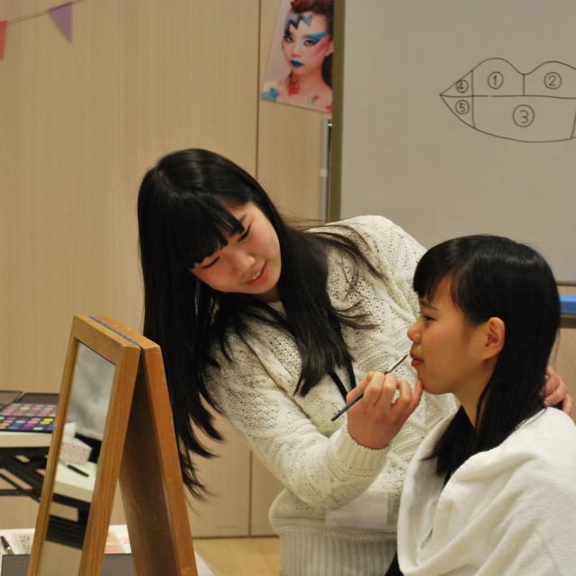 国際理容美容専門学校 ビューティ体験【エステ・メイク・ネイル】3