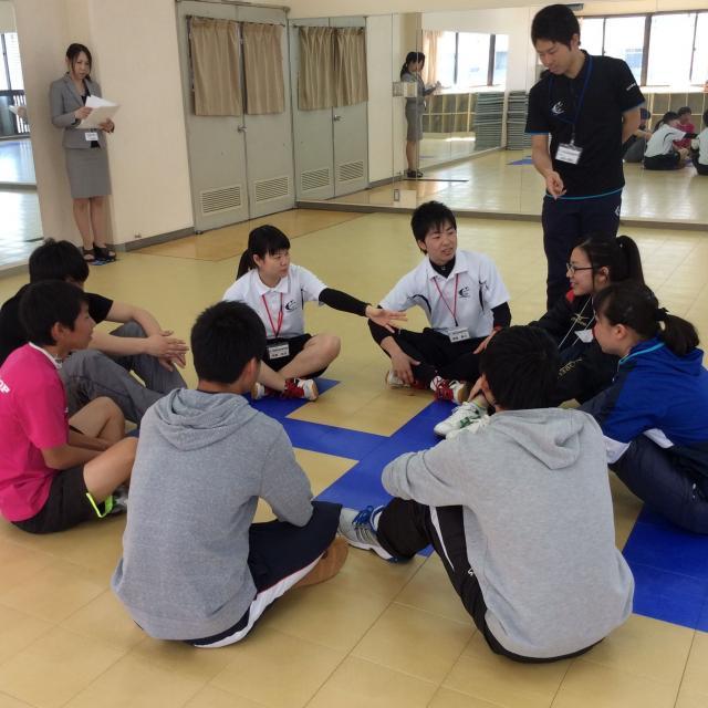 大阪社会体育専門学校 体験入学3