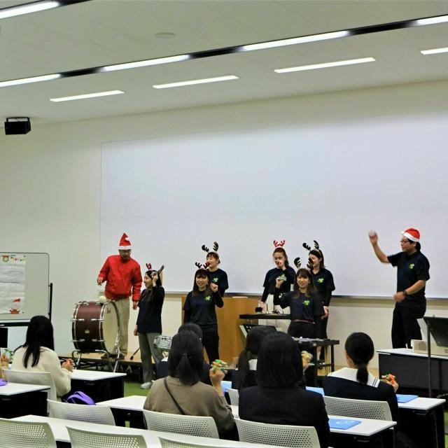 松山東雲短期大学 ☆彡クリスマス・オープンキャンパス ☆彡3