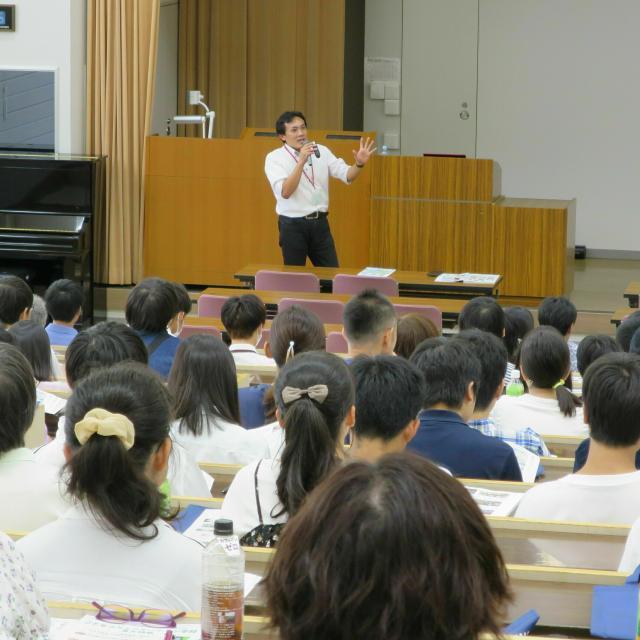 江戸川大学 オープンキャンパス1